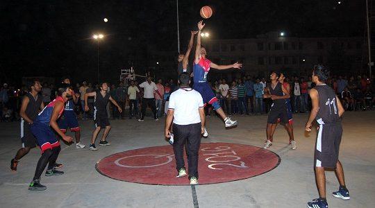 Extra-curricular basket-ball